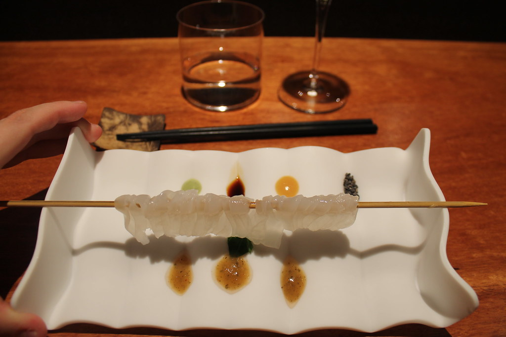 Sashimi de calamar