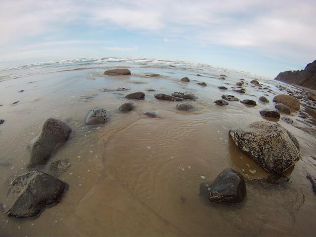 Beach Fisheye