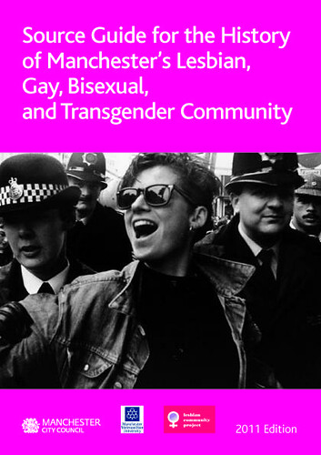 LGBT History Source Guide 2011 cover