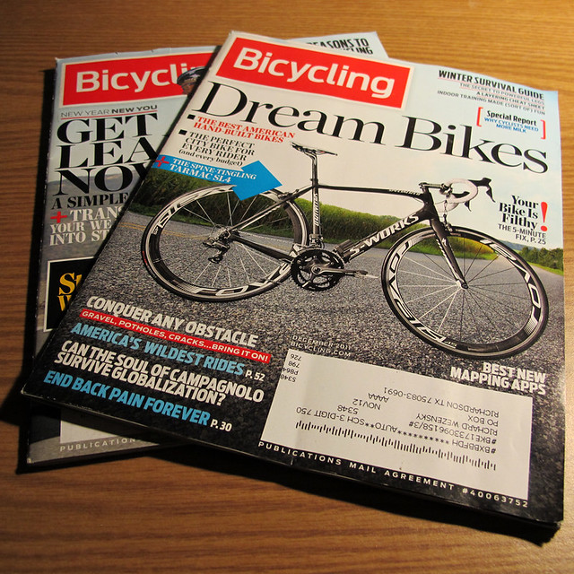 Bicycling Magazine - New Format