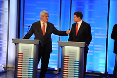 Newt Gingrich and Rick Perry