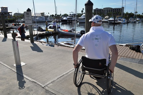 Sailors Prepare their Boats for the IFDS Worlds 2012 in Punta Gorda, Florida, Jan. 7, 2012