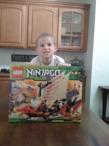 Drew's Big Lego Set