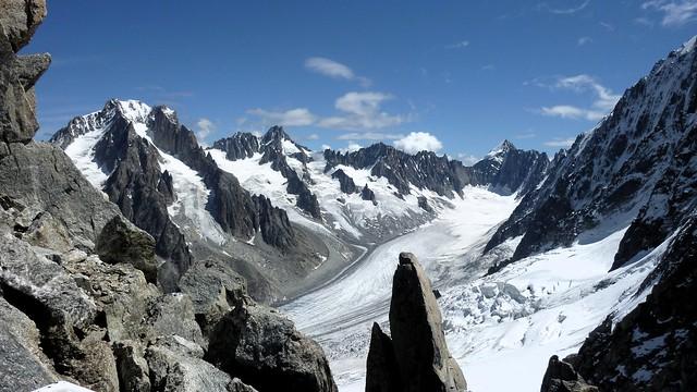 Circo de Grands Montets. Argentière (Alpes Franceses)
