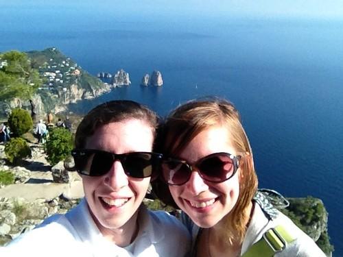 Atop Mt. Solaro in Capri