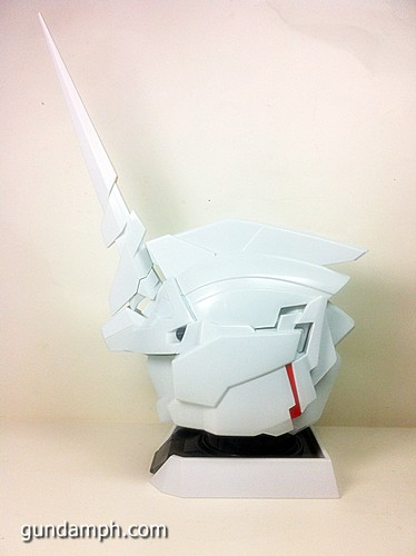 Banpresto Gundam Unicorn Head Display  Unboxing  Review (44)