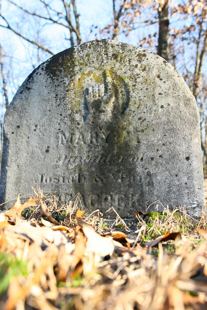 Peacock, Mary (Thompson), b. 13 Oct 1784, d. 20 Jan 1863, w/o Thomas Peacock