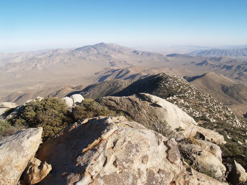 View east toward Whale Peak.