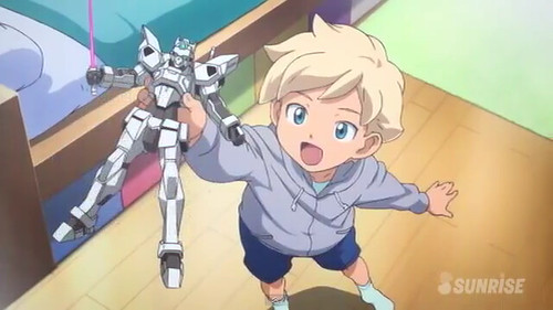 Gundam AGE Episode 16 The Gundam in the Stable Youtube Gundam PH (43)