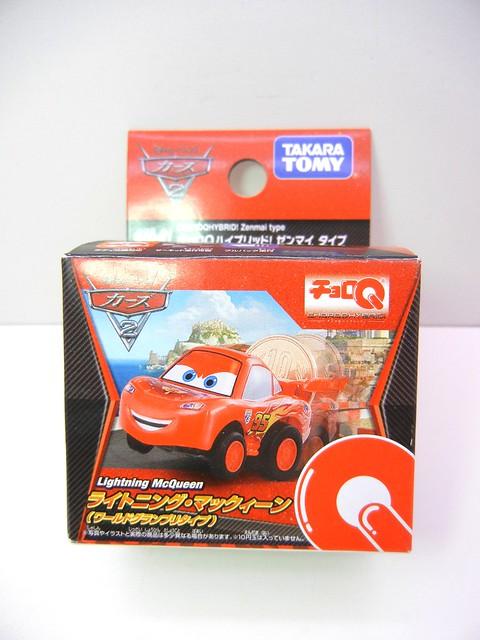 choro q disney cars 2 lightning mcqueen (1)