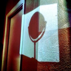 mirror shadow