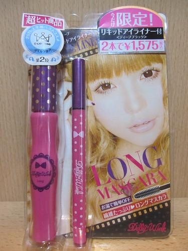 Koji Dolly Wink Long Mascara BK With Free Limited Eyeliner