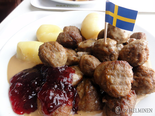 Ikea in Japan Meatballs