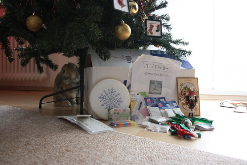 Christmas SWAP package from Sarah