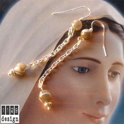 NASACA-orecchini-catena-agata-grigia-grey-silver-chain-handmade-earrings