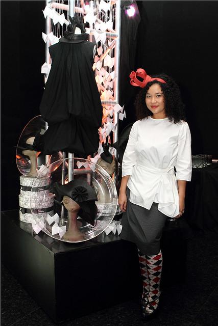 Resisting Uniformity through fashion is an installation by Mich Dulce