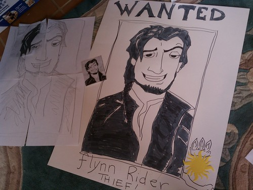 Flynn Rider Wanted by ashleyludwig