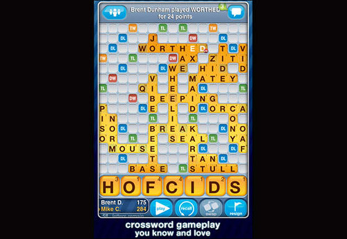 6. Words with Friends