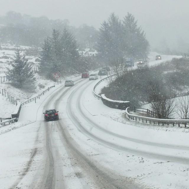 Blaen Y Glyn photography walk-Brecon Beacons traffic chaos