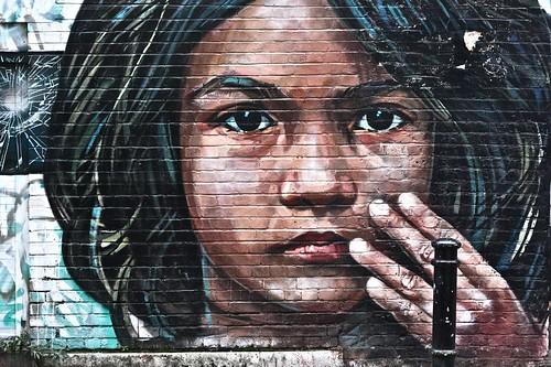Bangladeshi Girl by Cosmo Sarson