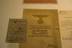 Un certificado nazi