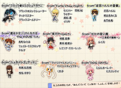 Nendoroid Plus charms included in the limited edition of NenGene