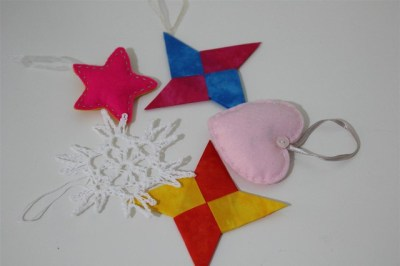 Lovely new ornaments from Susan