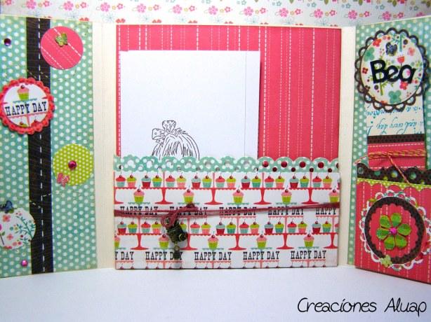Interior tarjeta - Inside card