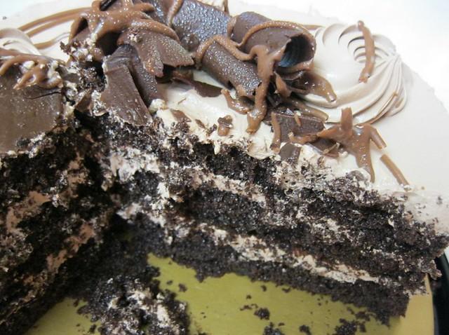 Triple Chocolate Torte Cake