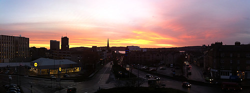 Dundee City Centre Sunrise Panorama