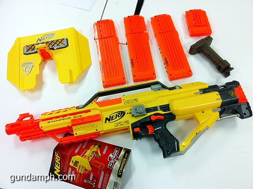 NERF Sale 50% Off Stampede Raider Recon Unboxing Review (30)