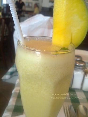 Italiannis Green Mango Shake