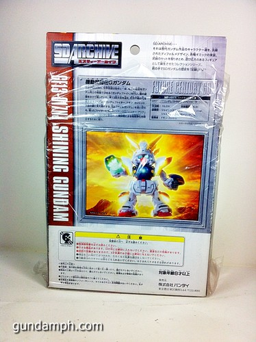 SD Archive Shining Gundam Unboxing Review (5)