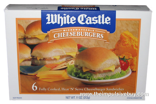 White Castle Microwaveable Cheeseburgers