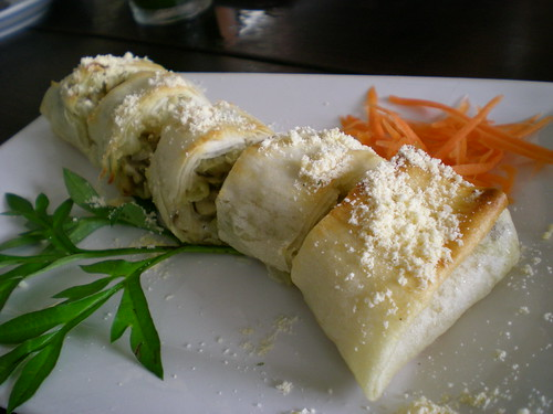 Payung's mushroom roll