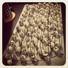 Boules de flipper comestibles