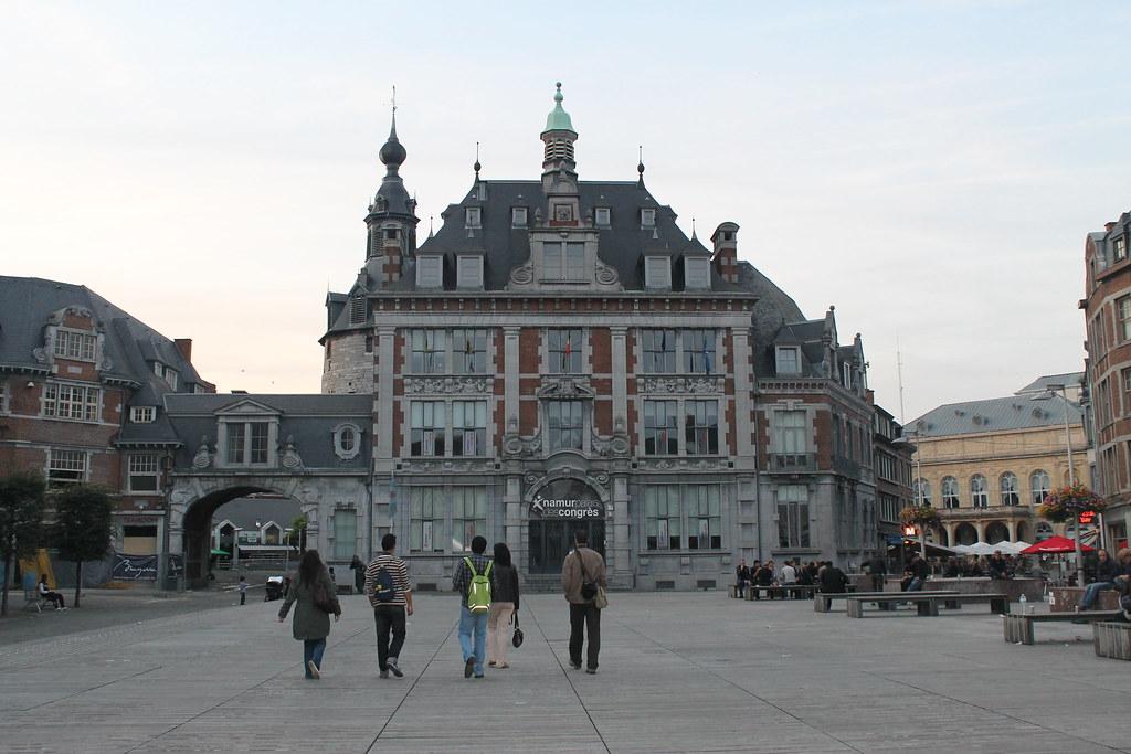 Paseando por Namur
