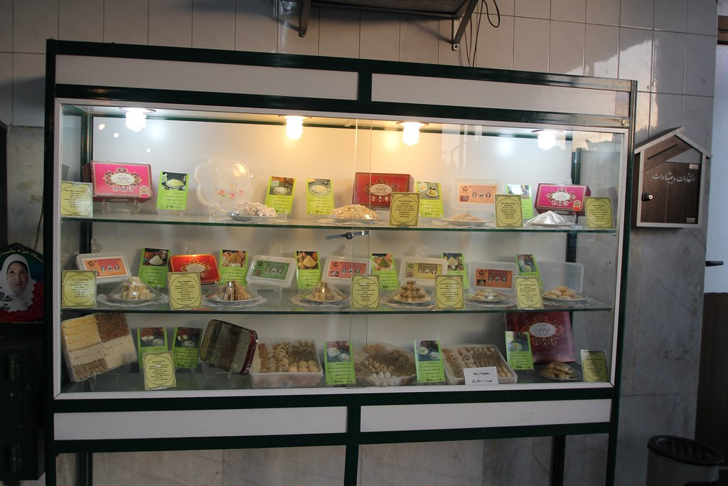 Pastries at Haj Khalifeh Rahbar's shop
