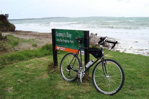 Grannys Bay, Long Bay Regional Park.