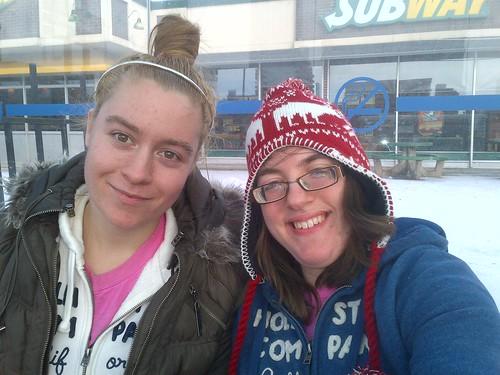 sara and i!