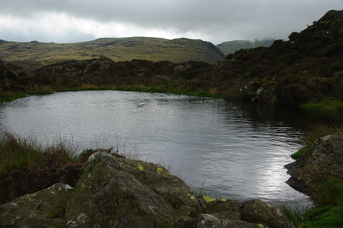 20110925-16_Toy Boat in small tarn on Haystacks by gary.hadden