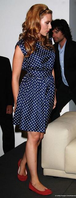 Scarlett Johansson in Repetto