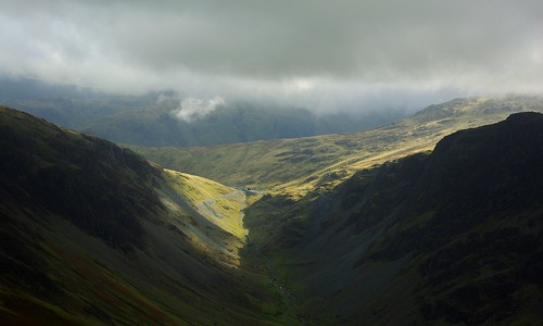 20110923-14_Highlighted Honister Pass from  Robinson Crag by gary.hadden