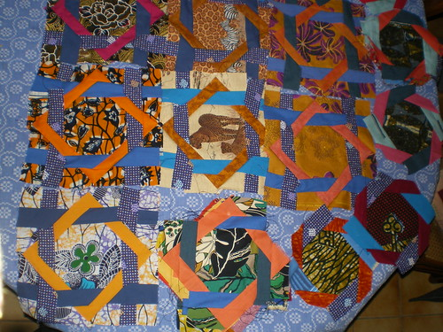 Histoire patchwork africain