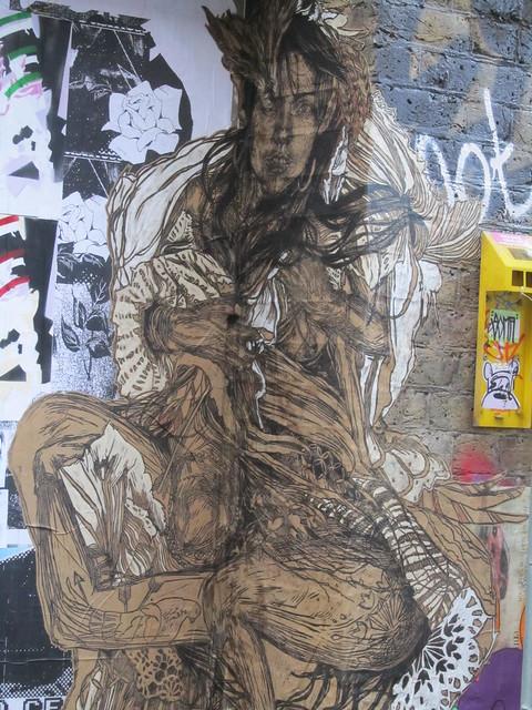 Street Art & Graffiti in Shoreditch