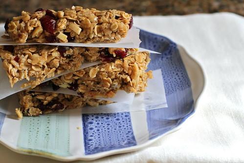 granola bars, close-up