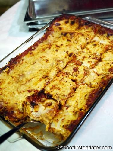 CNY 2012- lasagna