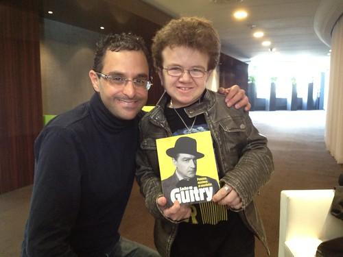 Rencontre avec Keenan Cahill, star du net et fan de Sacha Guitry by Arash Derambarsh