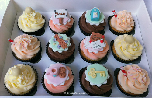 Cirencester Cupcakes - New Home Cupcakes