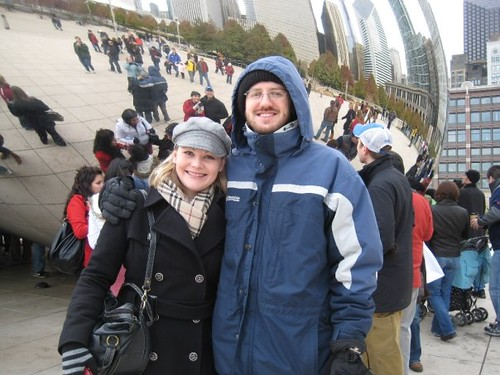 us at the bean in Chicago
